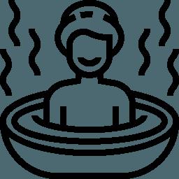 לוגו אמבטיה חמה